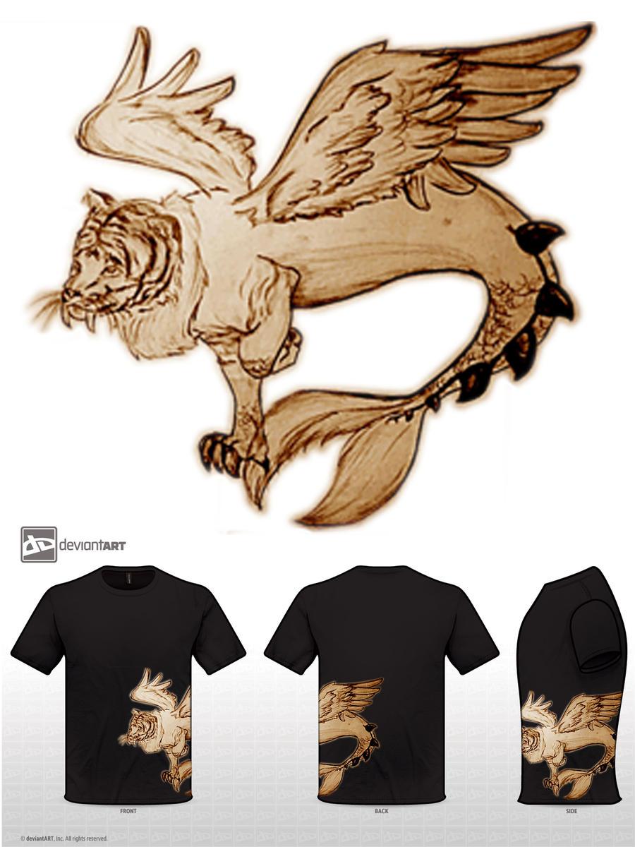 Myth chimera (T-shirt) by 95NFH