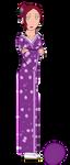 Tomoko's Older Sister: Harumi by blackblade94