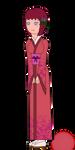 Plum Wine OC: Tomoko by blackblade94
