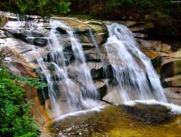 Prvni pad vodopad