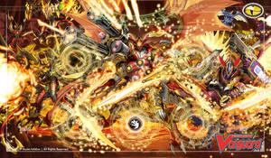 Cardfight!! Vanguard Playmat - Kagero Clan
