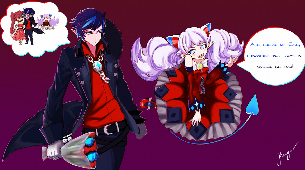 Elsword lu and ciel fun date by messneger on deviantart elsword lu and ciel fun date by messneger voltagebd Image collections