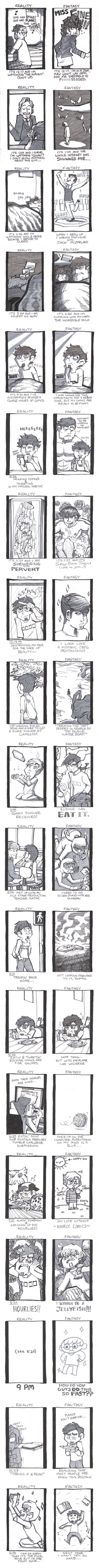 HOURLY COMIC DAY 2011 by Hedrew