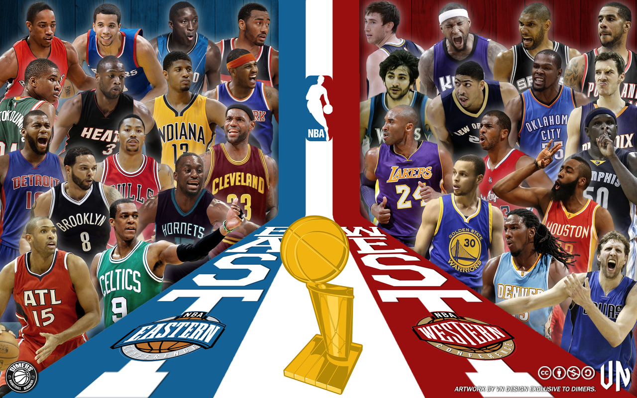 NBA 2014-15 season by vndesign on DeviantArt