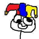 my clown face