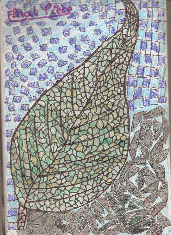 Leaf Mosaic by Moka898