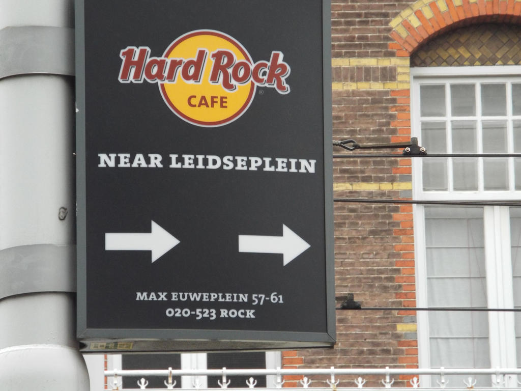 Hard Rock Cafe ~ Amsterdam by Moka898