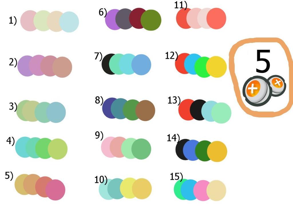 *Reduced* 5 Points Random Colour Adopt 11/15 by Moka898