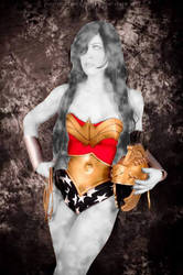 Wonder Woman Stoned by sleepyhypno
