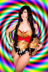 Wonder Woman Hypnotized (static) by sleepyhypno