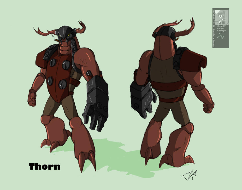 Thorn Turn Around 7/14/13 by creon77