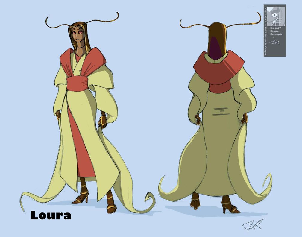Loura 7/15/13 by creon77