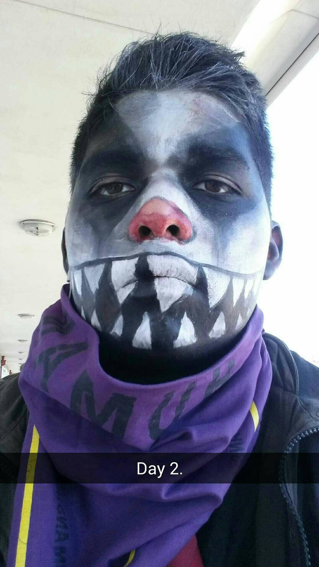 circus clown face paint by ryanmrobson on deviantart