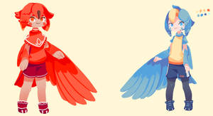 Bird oc creation