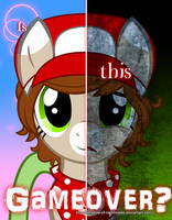 .:Commssion:. Two Sides of 8-bit by Shadow-of-Nightmares