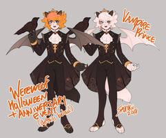 [CS RAFFLE] Halloweenniversary [Winners] by Sakokii