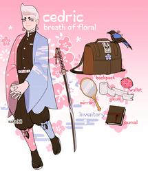 [KnY AU] Cedric by Sakokii