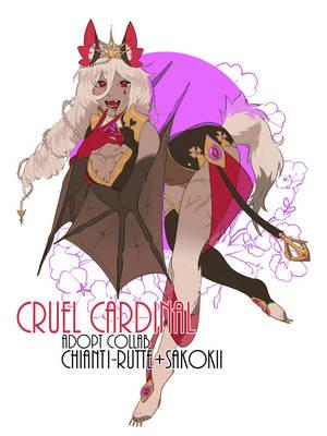 [COLLAB] Cruel Cardinal [CLOSED] by Sakokii