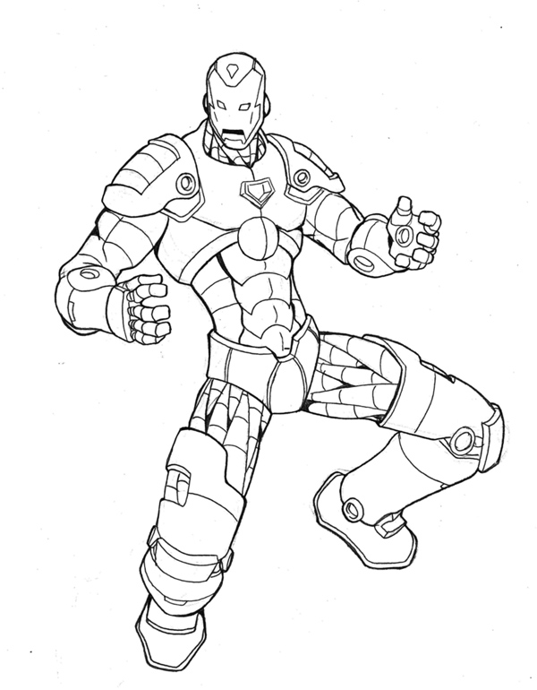 Line Drawing Man : Iron man lineart by annyd on deviantart