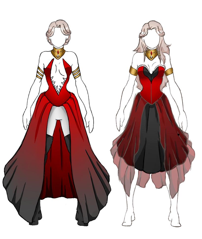 Gwyneth Clothing Design 2 by Vivydraws