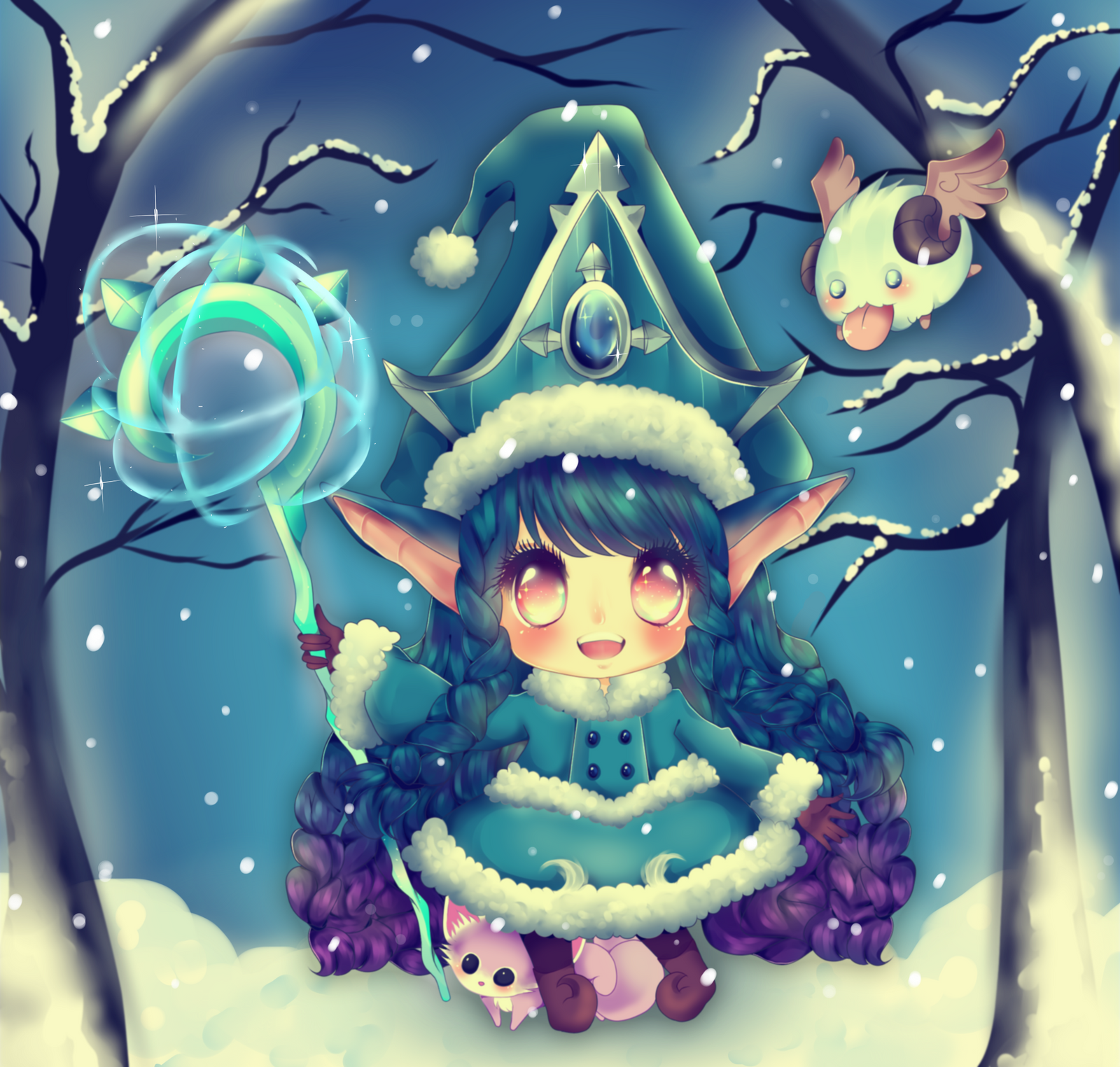 Winter Wonder LuLu by myaoh