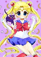 Sailor Moon! + SpeedPaint by Powder-Puff