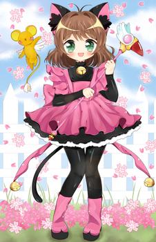 Sakura Kitty!