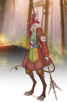 Human Satyr Freya (Commission by Sefame)