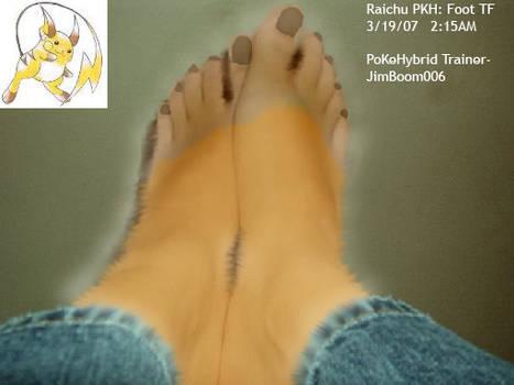 Raichu PKH Foot TF, beta