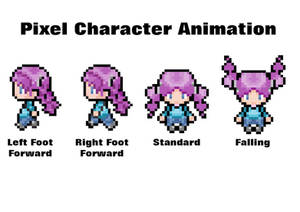 Pixel Character Animation
