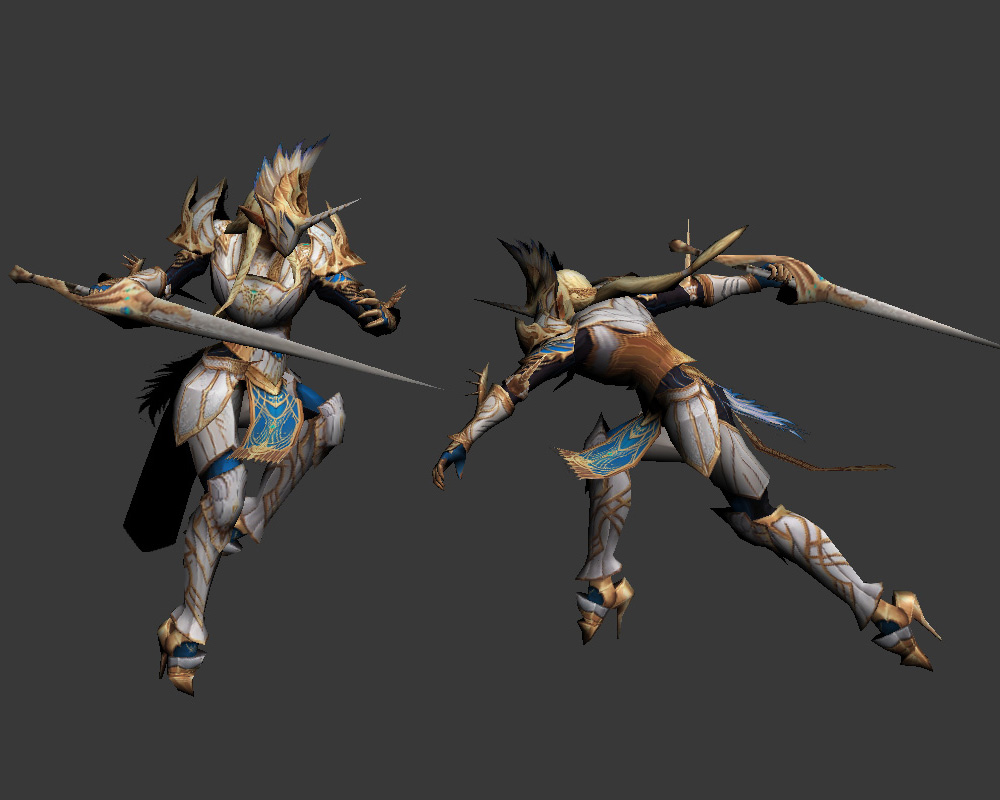 [L2] Spirit of Cat\Unicorn\Demon - Animated 3D Model Uni_by_eimg-d94cm60