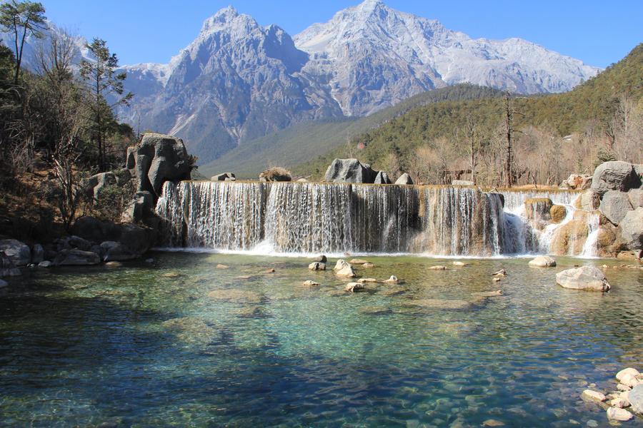 Li Jiang Waterfall by kristofv58