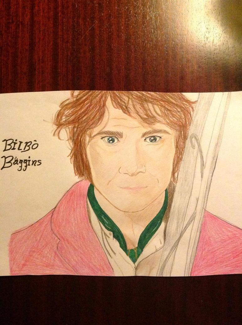 Martin Freeman/Bilbo baggins by angelica130201
