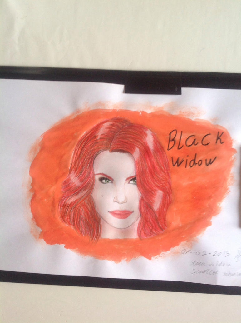Black widow by angelica130201