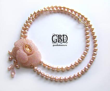 The Rose necklace-bracelet 2