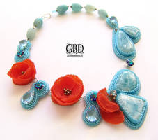 Sky poppies by gbdreams