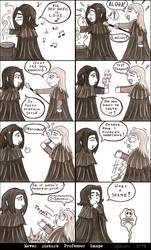 Never Disturb Professor Snape by ChiiWatasu