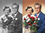 Old Wedding in Colour
