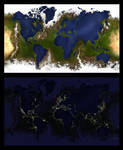 Inverted Earth / Day and Night