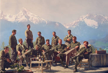 Dick Winters + Easy Company (HBO Band of Brothers) by Mygrapefruit