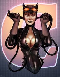 Catwoman Color by Battlewraith
