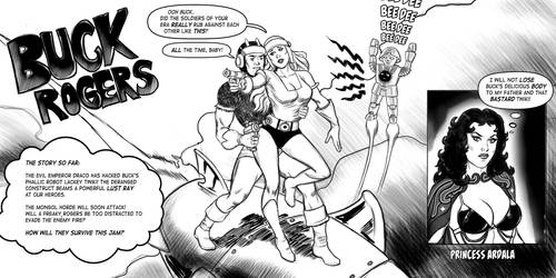 Buck Rogers strip