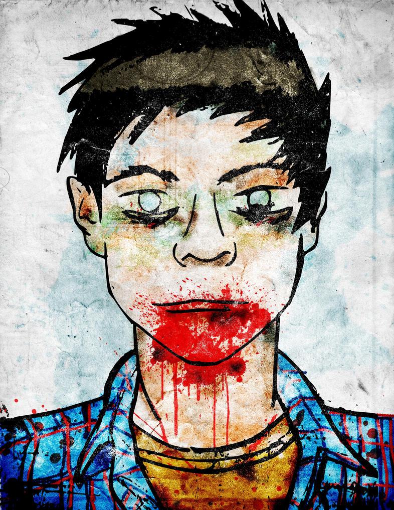 Zombie Boy by RubenRocanlover