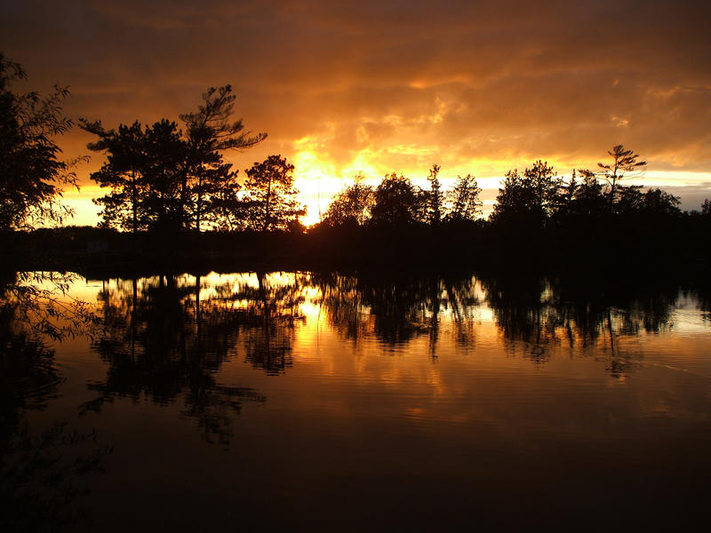 Fire Sunset by Calandra-09
