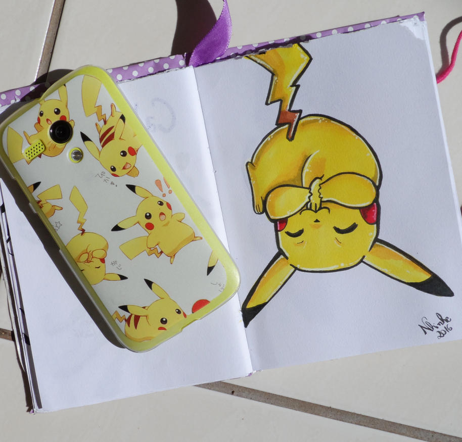 Pikachu by nhinhe