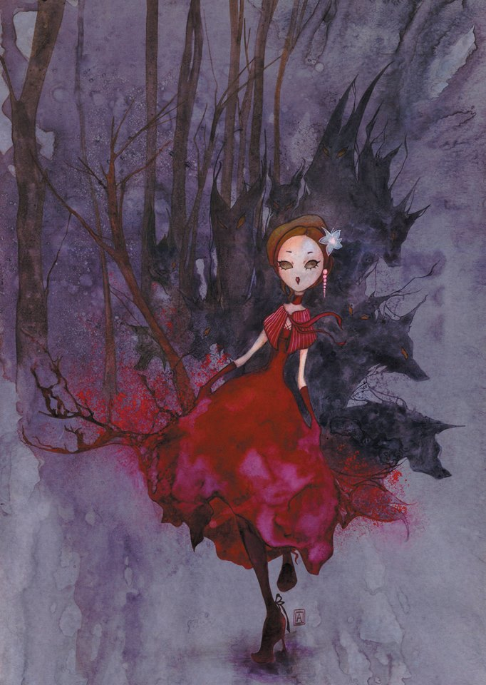 The little red riding hood by annick