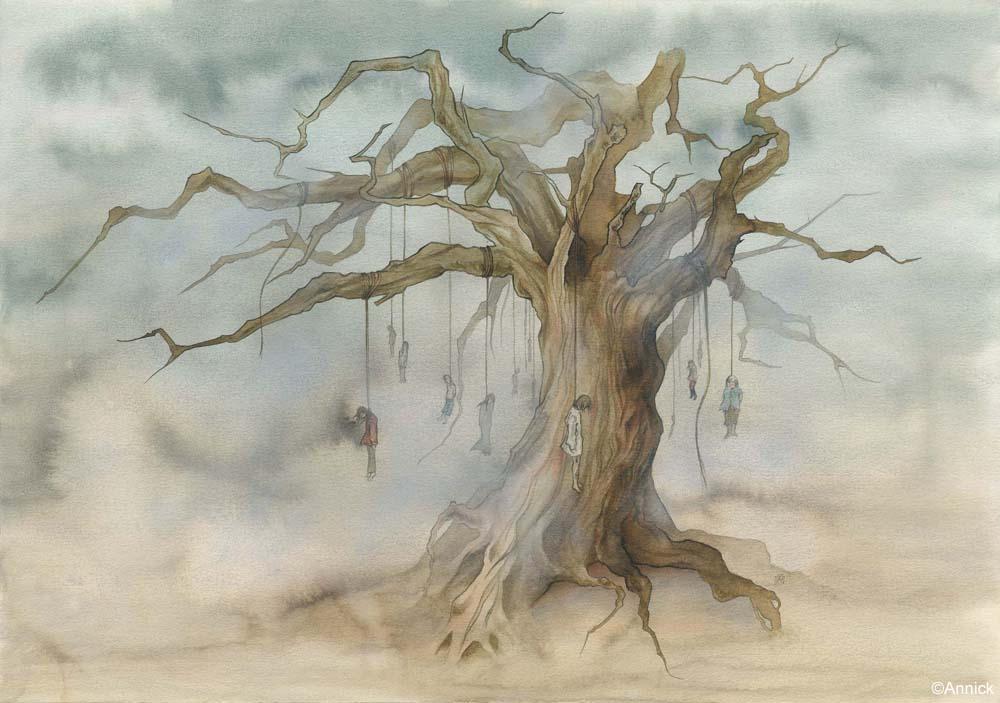 Hangmen tree by annick