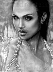 Realism - Angelina by RoArtAr