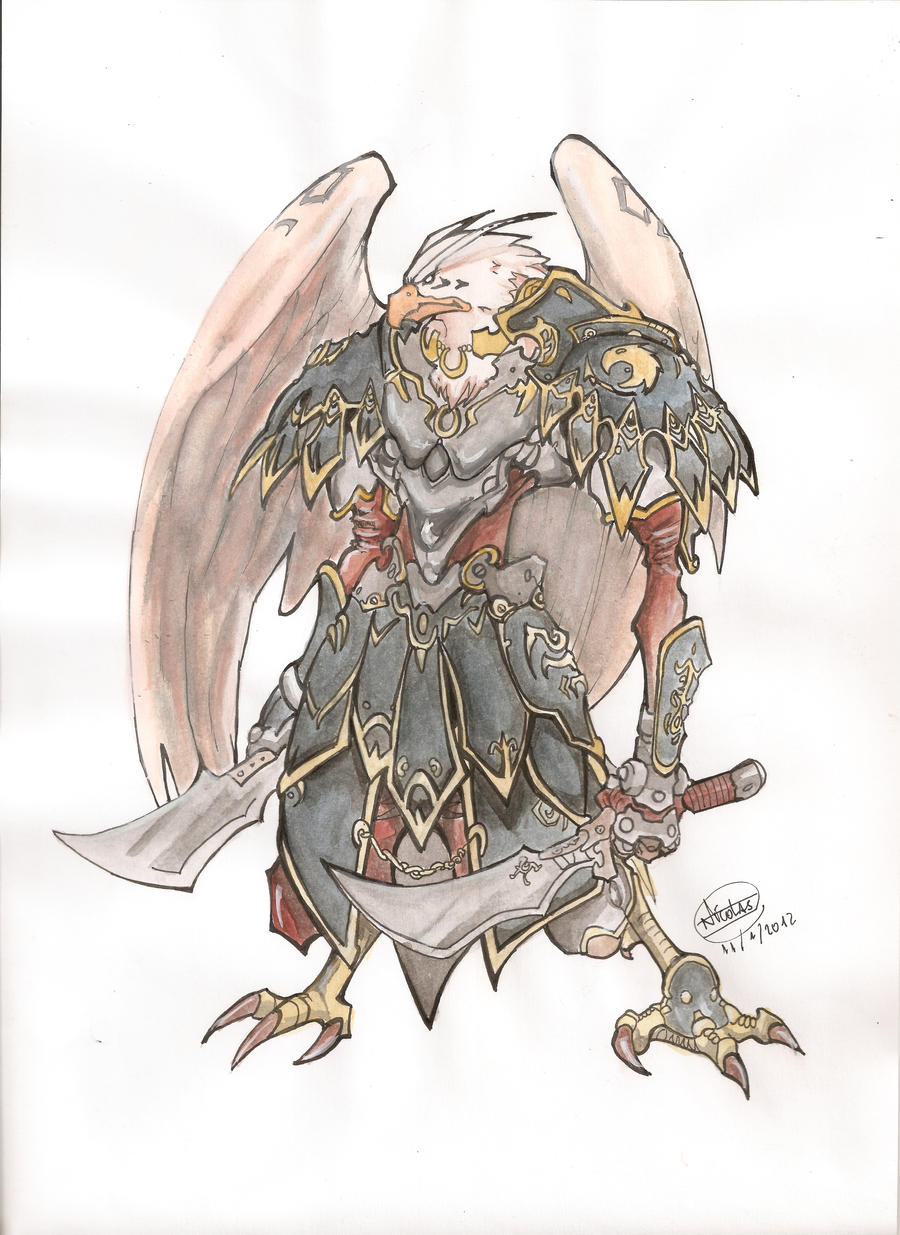 Eagle Warrior from Udon Comics by Vendex on DeviantArt