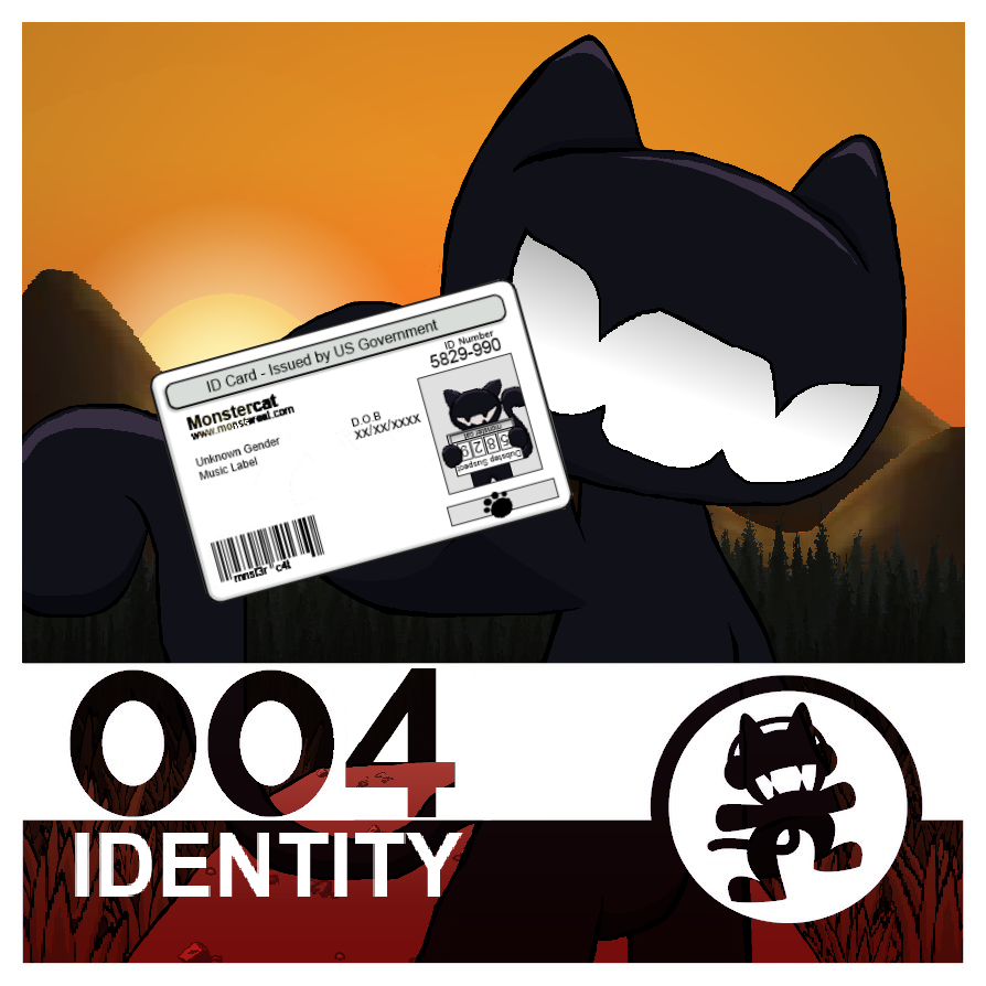 Monstercat 004 - Identity, Variant 1 by theoisadoor on